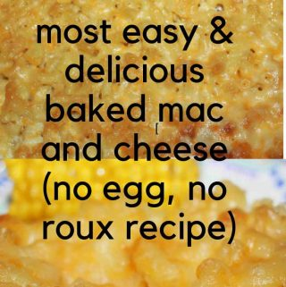 baked mac and cheese without roux