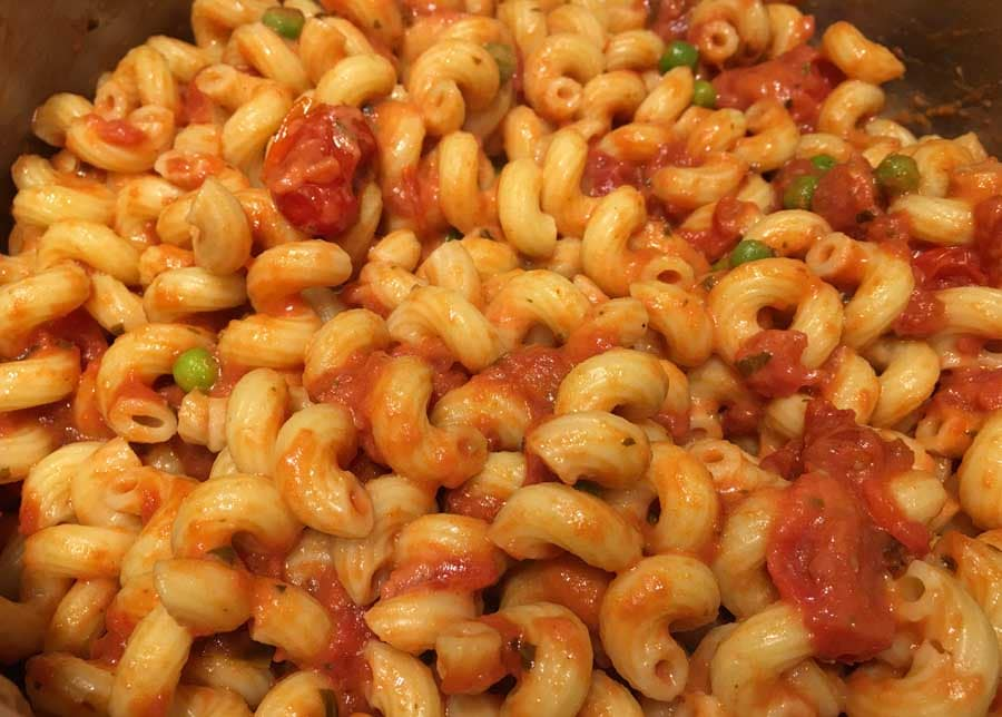 creamy tomato cellentani pasta recipe