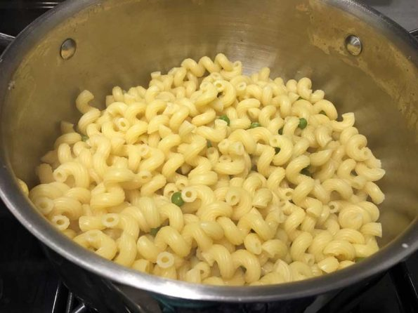 how to make cellentani pasta with peas