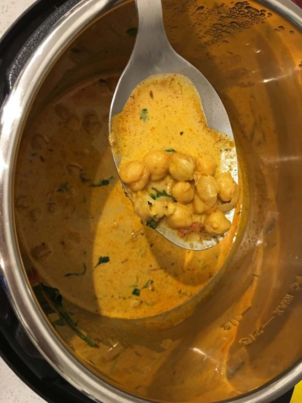 instant pot chickpea curry recipe vegetarian