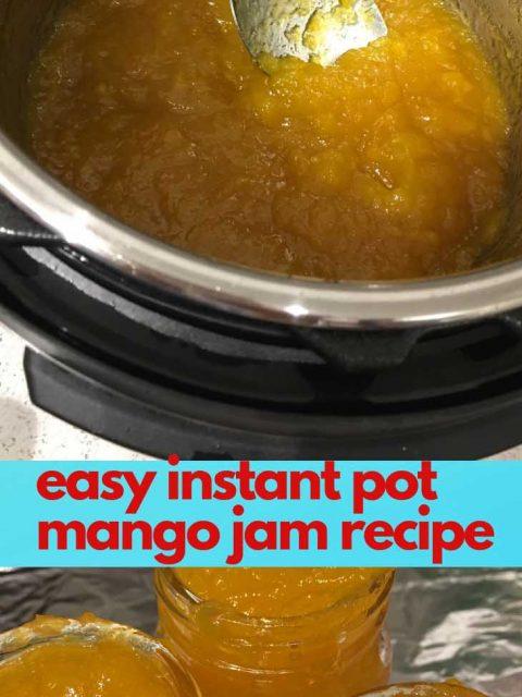 instant pot mango jam recipe