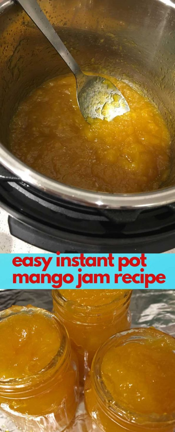 instant pot mango jam recipe