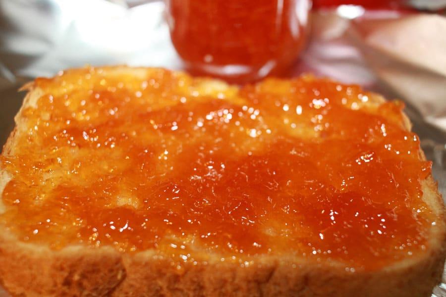 instant pot peach jam spread recipe