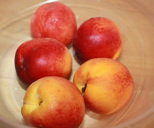 peaches ripe