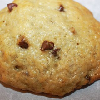 banana chocolate chip cookies vegan recipe