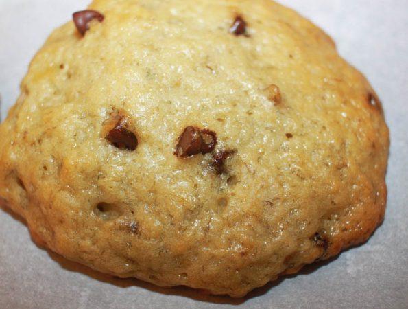 banana chocolate chip cookies vegan recipe