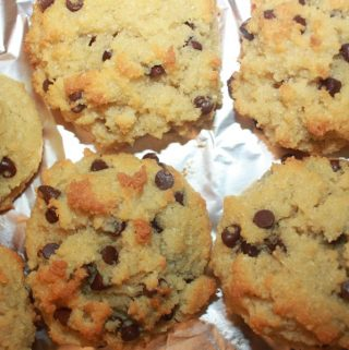 best coconut flour chocolate chip cookies