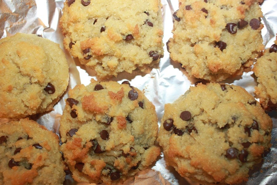 best coconut flour chocolate chip cookies