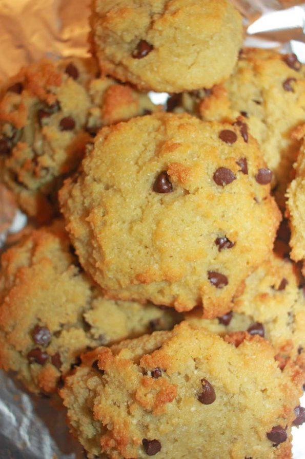 coconut flour chocolate chip cookies gluten free