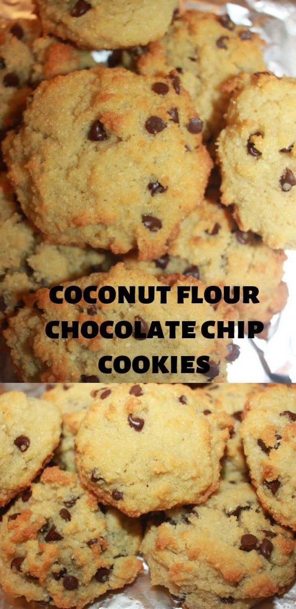 coconut flour chocolate chip cookies recip