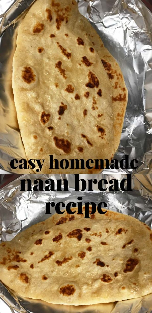 homemade naan bread recipe from scratch easy