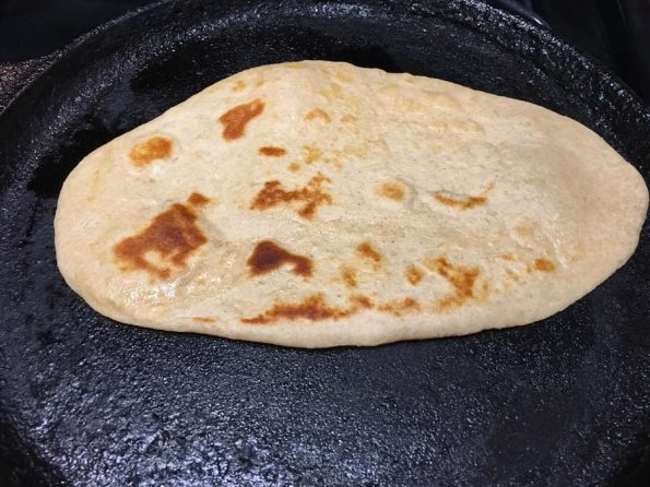 how to make naan bread in tawa
