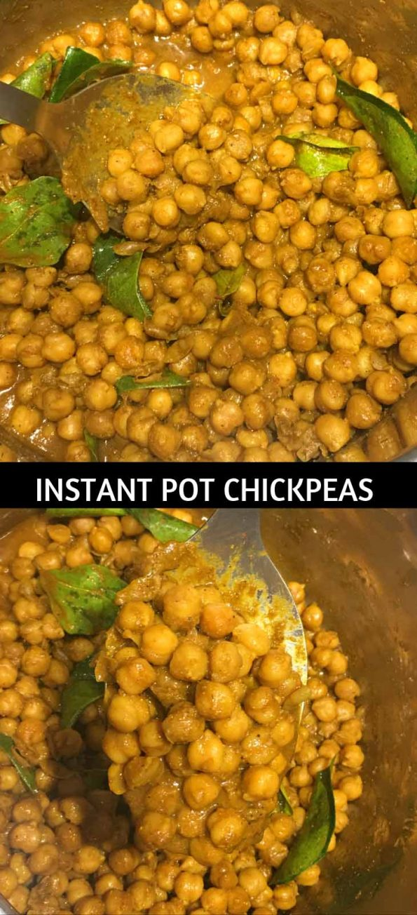 instant pot chickpea curry no soak