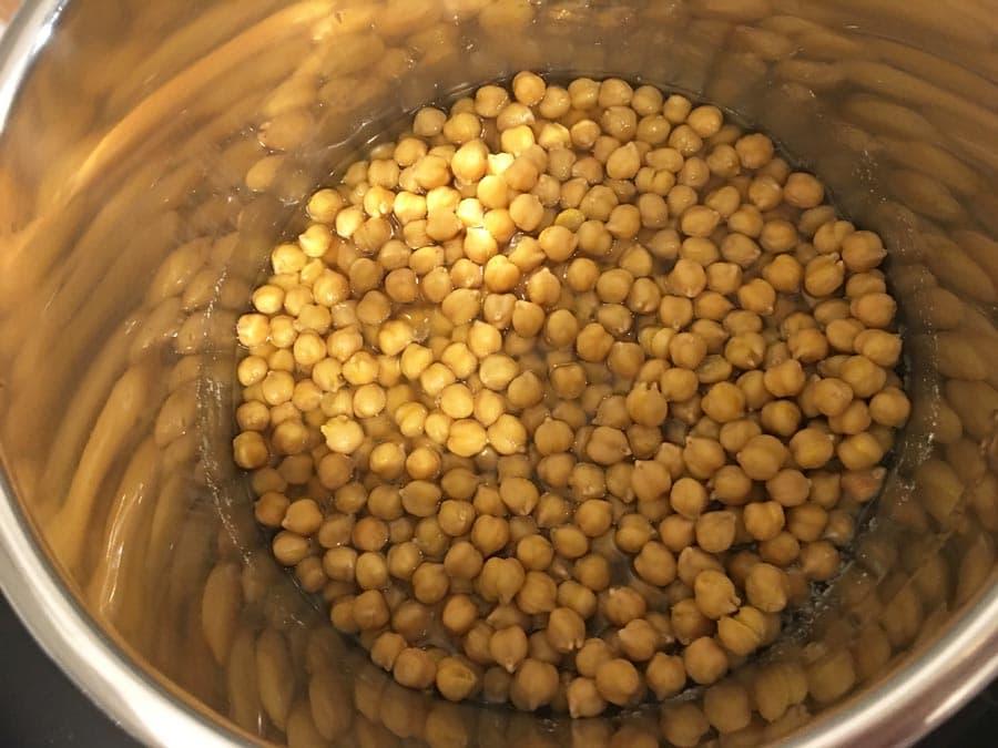 instant pot chickpeas no soak