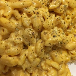 instant pot pumpkin macaroni and cheese
