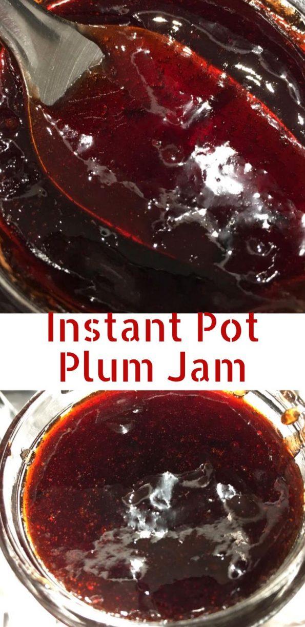 Instant Pot Plum Jam