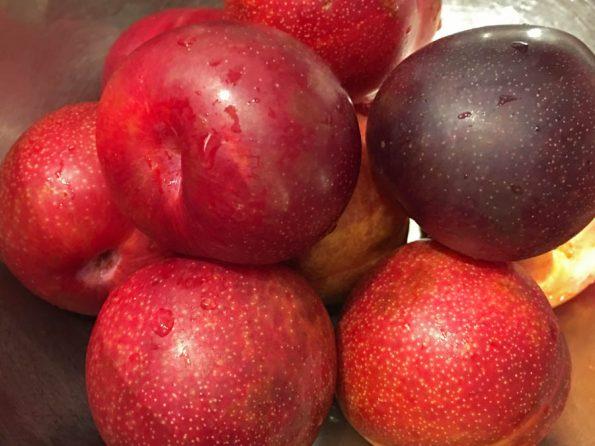 red plum jam