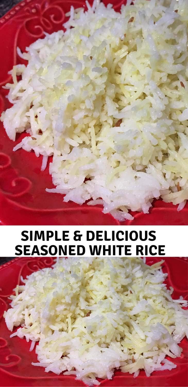 seasoned white rice recipe