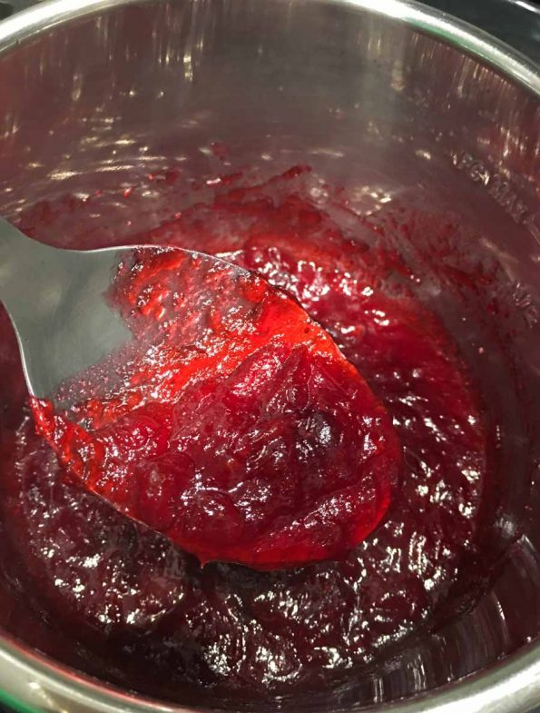 how to make instant pot cranberry sauce
