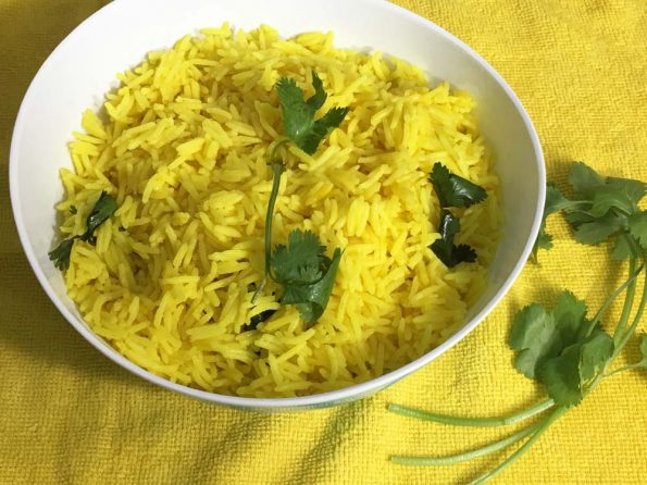 instant pot yellow rice