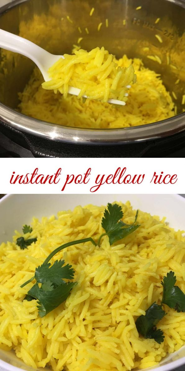 instant pot yellow rice recipe