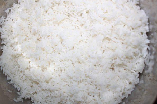 cooking ponni raw rice