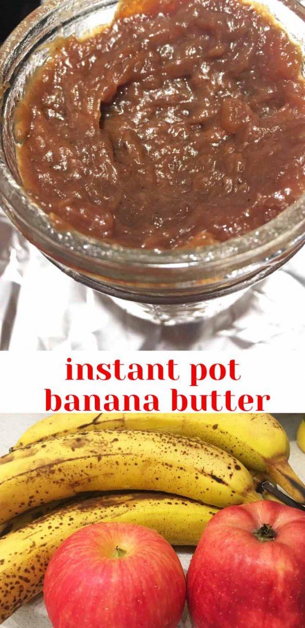 instant pot banana butter recipe