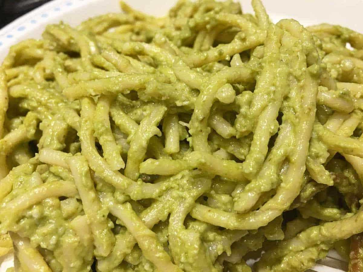 pesto spaghetti noodles instant pot