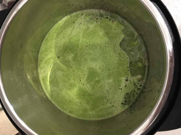 spinach sauce for pasta