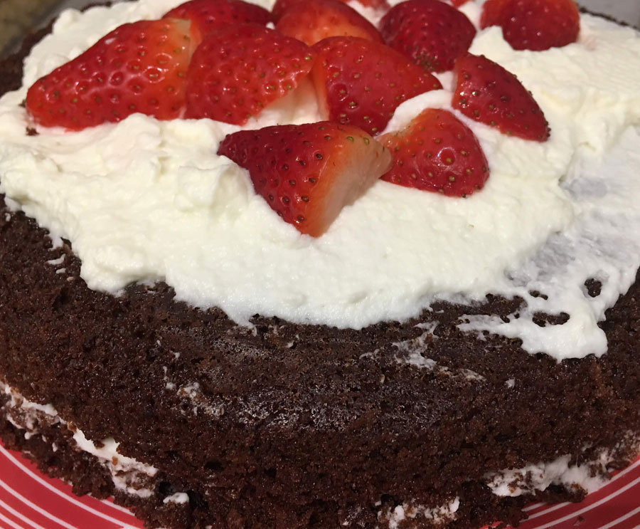 moist chocolate cake from scratch