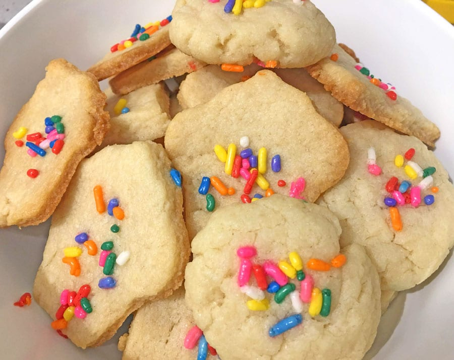 sugar cookies without eggs