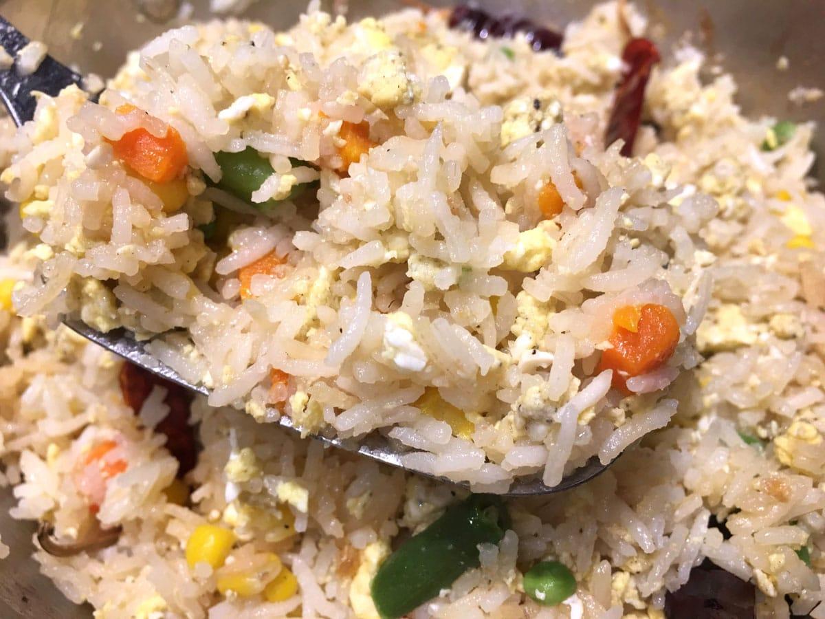 egg fried rice recipe easy
