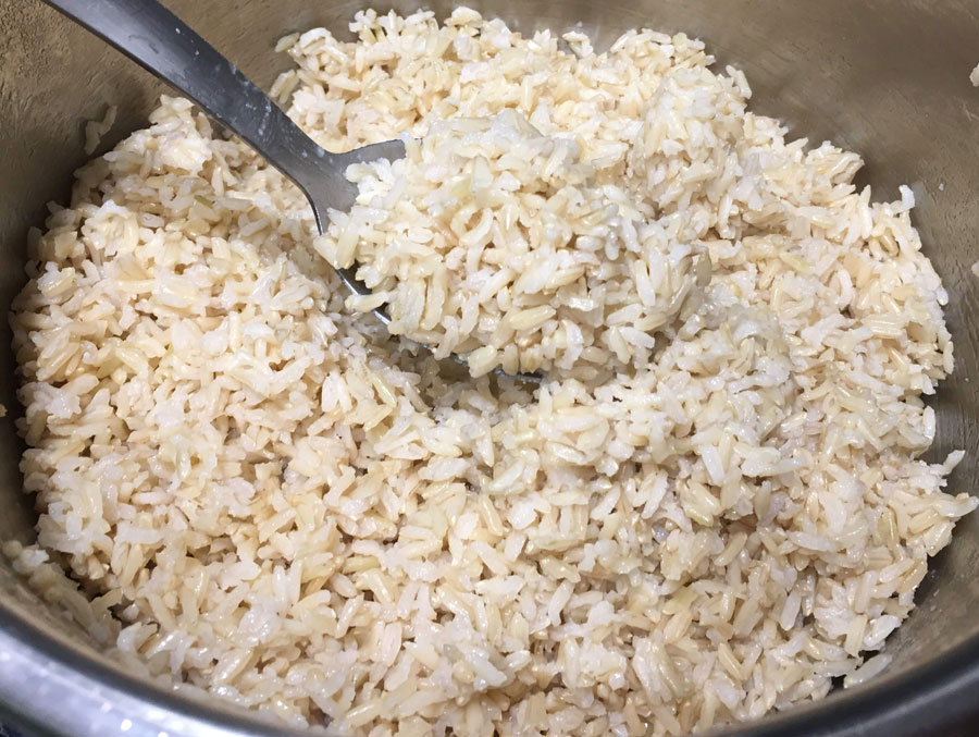 instant pot brown rice perfect