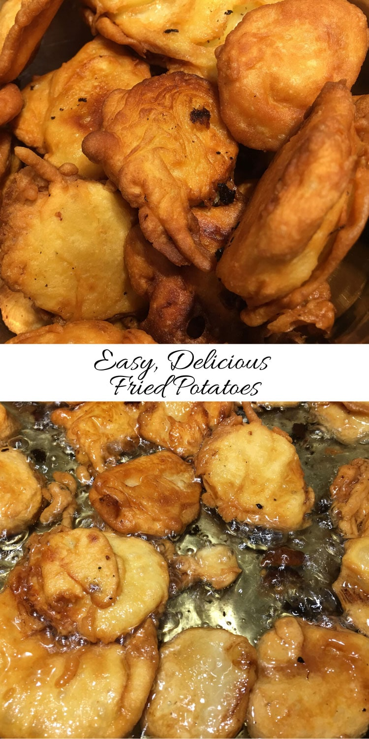 deep fried potatoes recipe