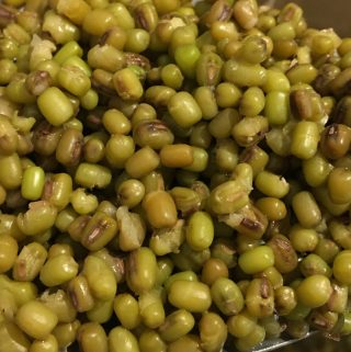 mung beans cooked