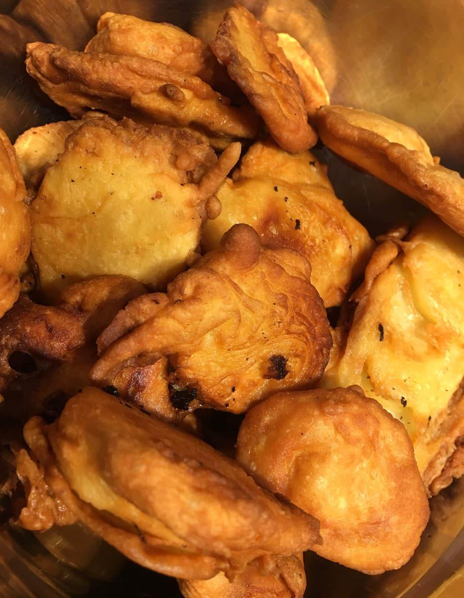 perfect deep fried potatoes