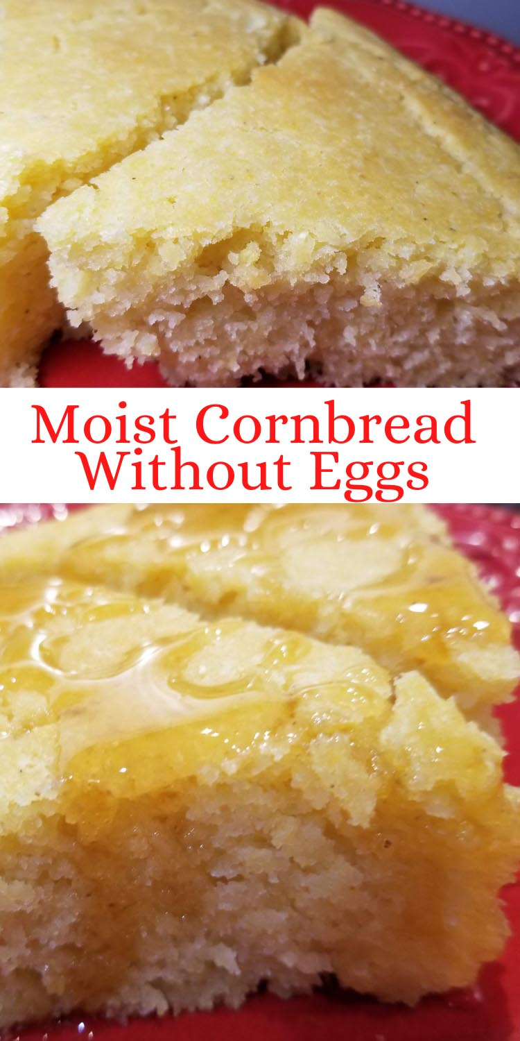 moist cornbread without eggs