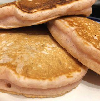 flavored pancakes recipe