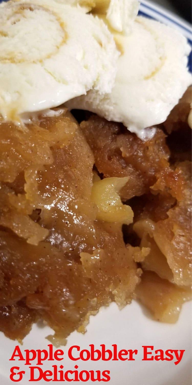 apple cobbler recipe from scratch