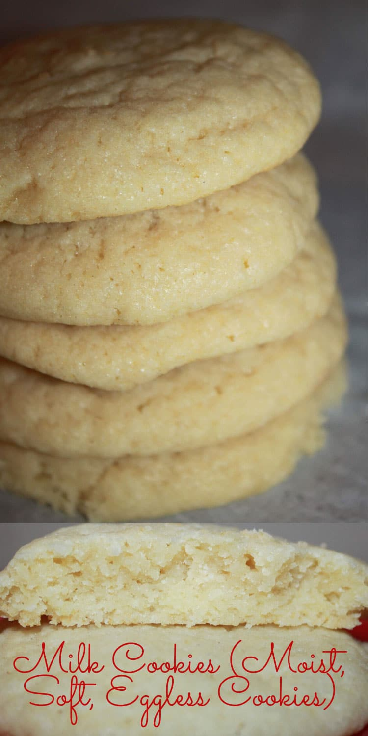 milk cookies eggless