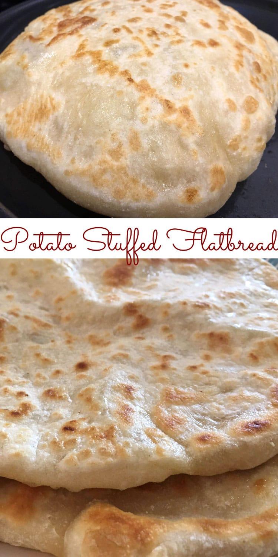 aloo paratha potato stuffed flatbread