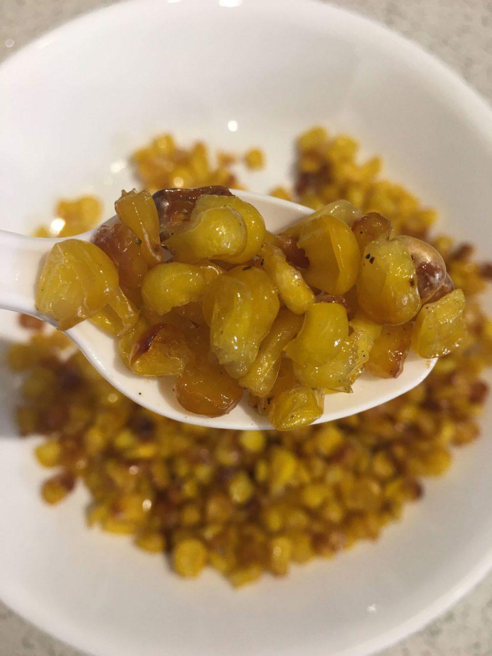 buttered roasted frozen corn