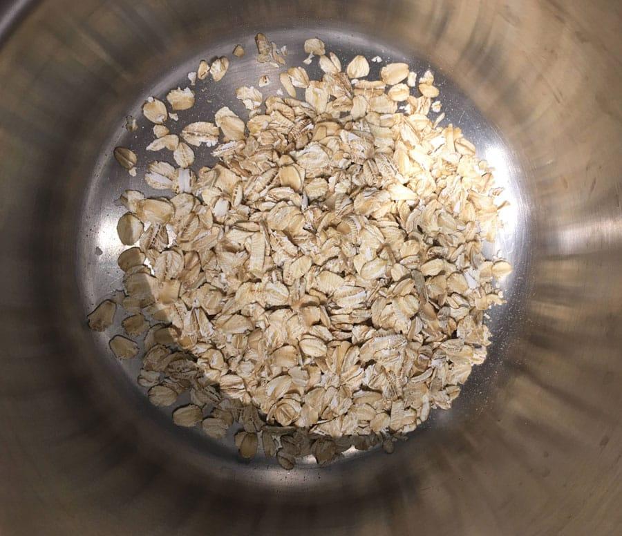 making oatmeal