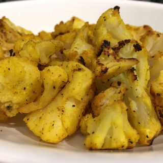 roasted frozen cauliflower