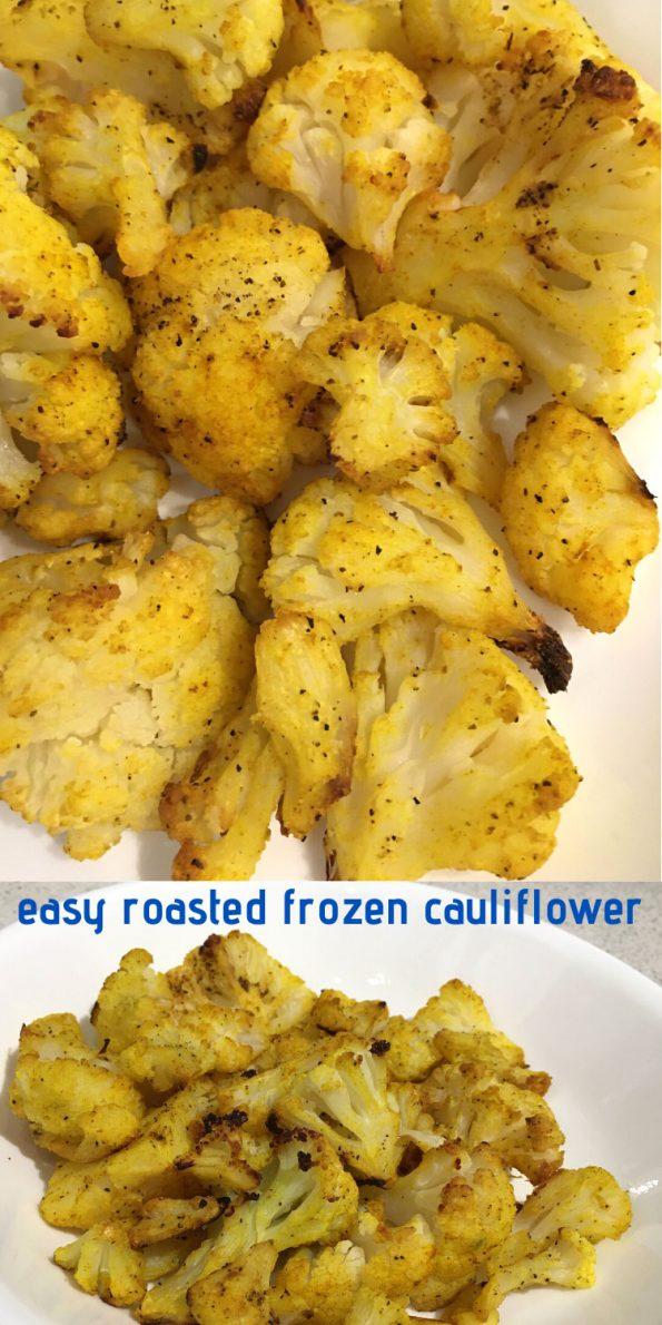 roasted frozen cauliflower florets