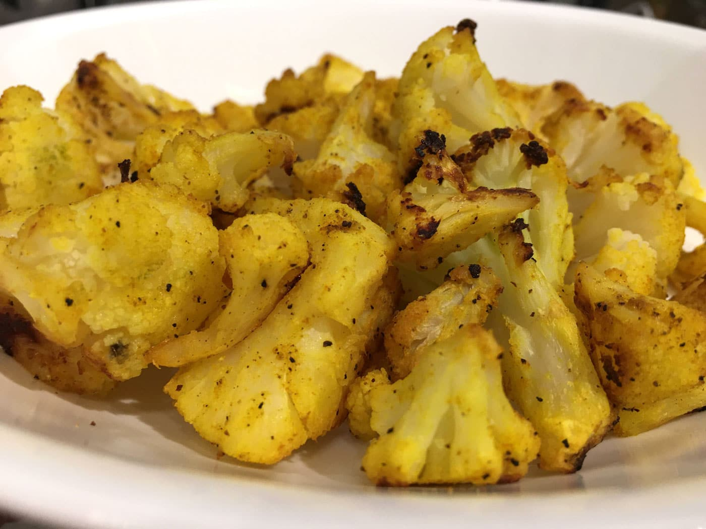 roasted frozen cauliflower