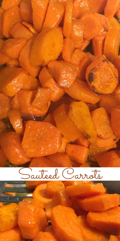 sauteed carrots easy recipe