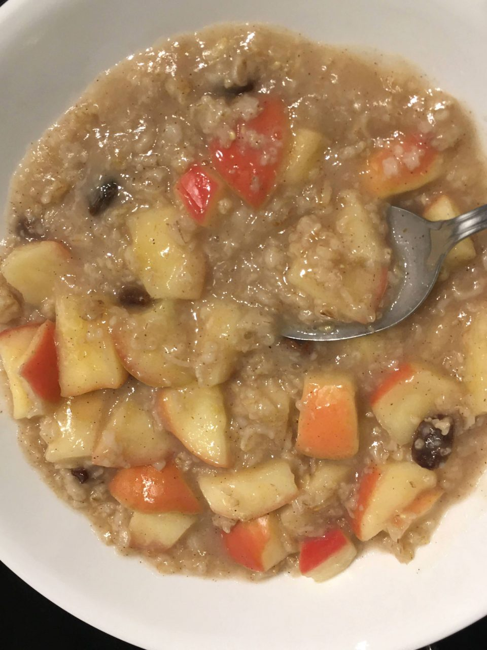 vegan oatmeal without milk sugar
