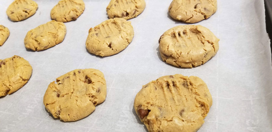 perfect self rising flour peanut butter cookies