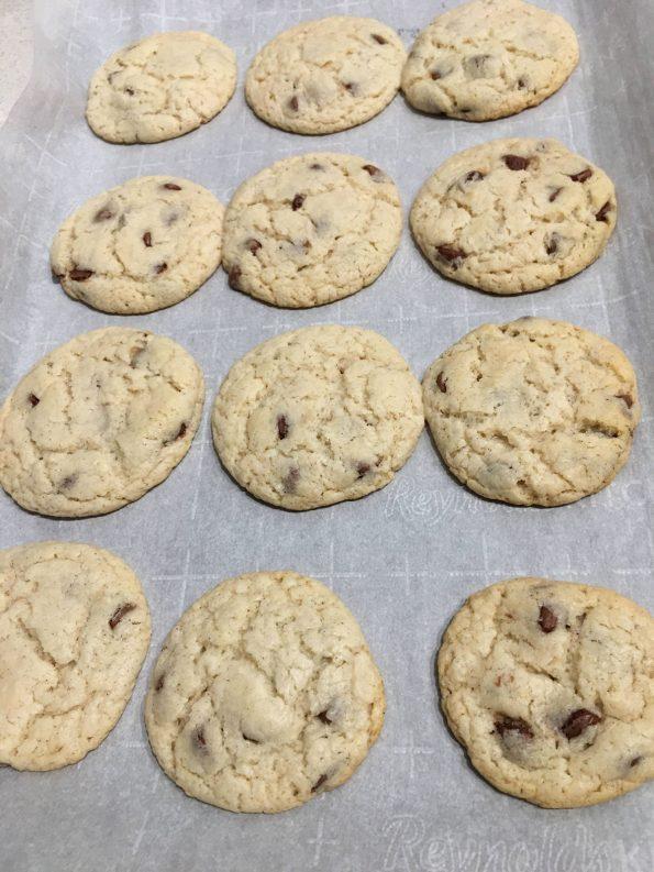 baked self rising flour cookies